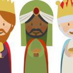 Los Reyes Magos vienen en camino…Sus primeros regalos