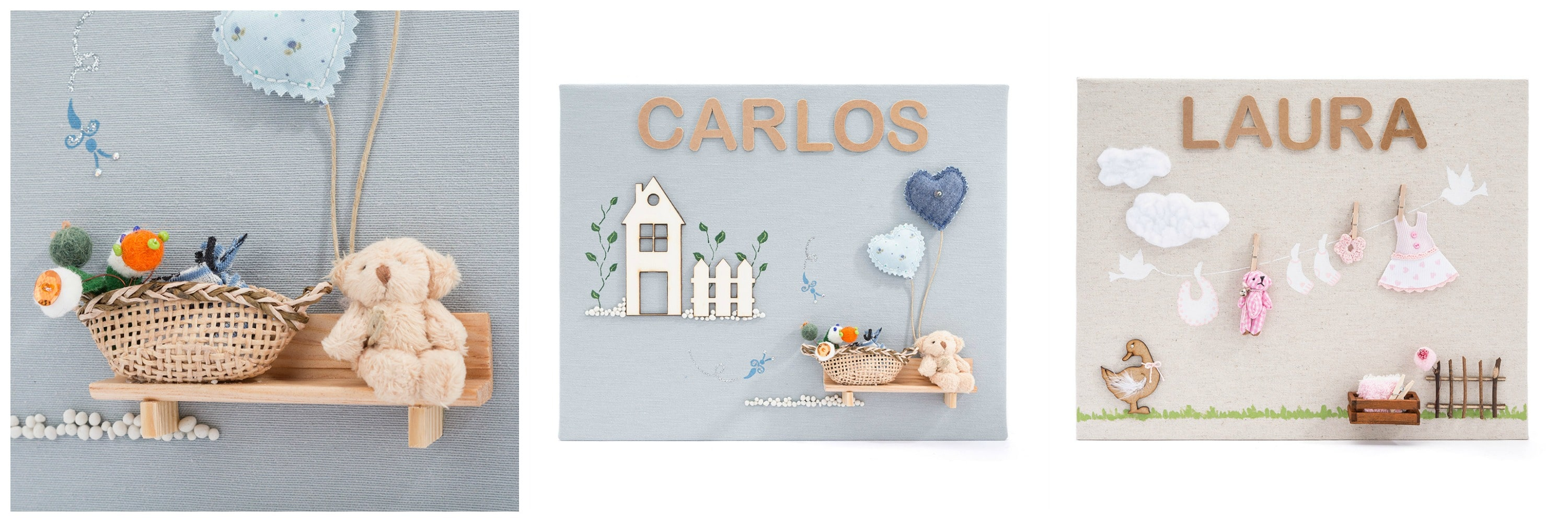 Regalos personalizados beb de par s for Cuadros originales para decorar