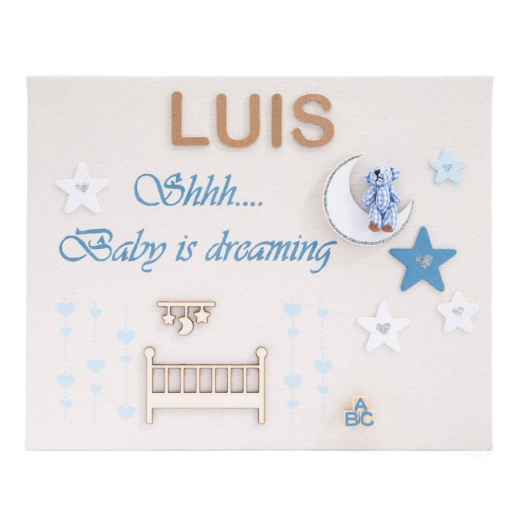 cuadro personalizado Luis