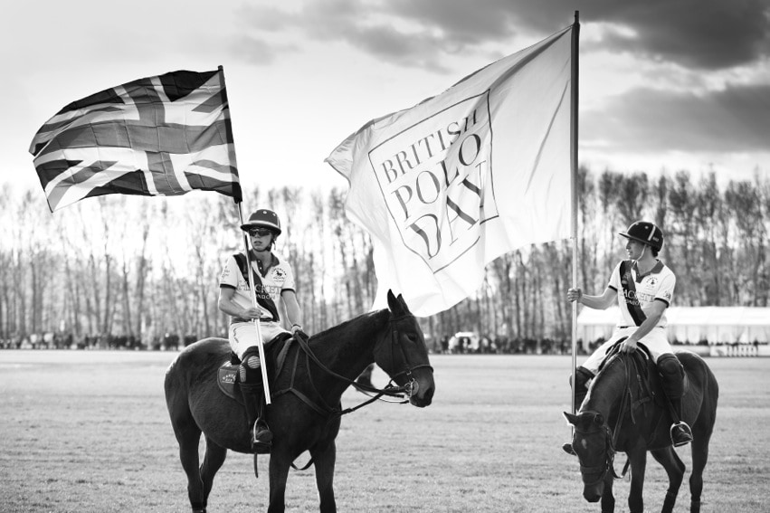 Hackett Team British Polo Day