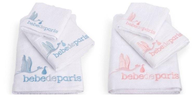 set de toallas bebe